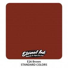 Brown Eternal Tattoo Ink коричневая краска Этернал
