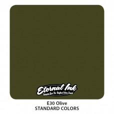 Olive Eternal Tattoo Ink краска оливкового цвета Этернал