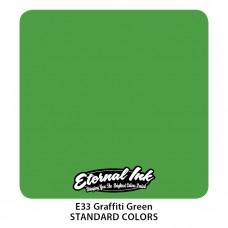 Graffiti Green Eternal Tattoo Ink ярко-зелёная краска Этернал