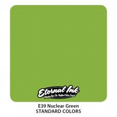 Nuclear Green Eternal Tattoo Ink ярко-зелёная краска Этернал
