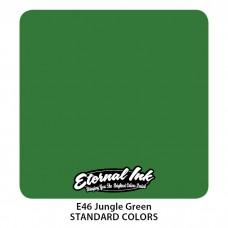 Jungle Green Eternal Tattoo Ink зелёная краска Джунгли Этернал