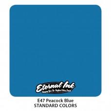 Peacock Blue Eternal Tattoo Ink синяя краска Павлин Этернал