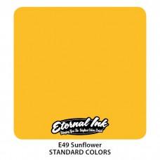 Sunflower Eternal Tattoo Ink жёлтая краска Подсолнух Этернал