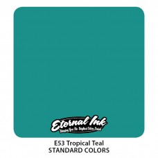 Tropical Teal Eternal Tattoo Ink синяя краска Тропический Чирок Этернал