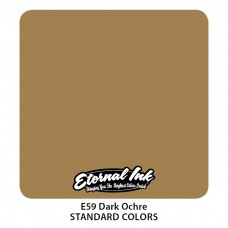 Dark Ochre Eternal Tattoo Inkтёмная жёлто-коричневая краска Темная Охра Этернал