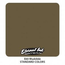 Mudslide Eternal Tattoo Ink тёмно-коричневая краска Сель Этернал