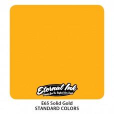 Solid Gold Eternal Tattoo Ink жёлтая краска Твердое Золото Этернал
