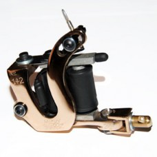 Bronze Contraption Tattoo Machine - Liner