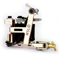 Brass Hybrid Tattoo Machine