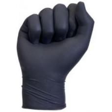 Перчатки чёрные латексные без талька поштучно