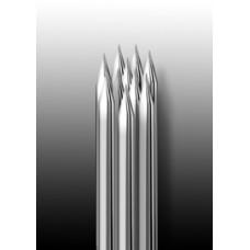 10RS Иглы напаянные на спицу, круглая спайка для теней и закраски (1 шт.)