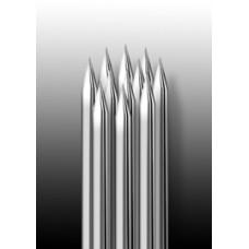 11RS Иглы напаянные на спицу, круглая спайка для теней и закраски (1 шт.)