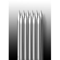 11M1 Иглы напаянные на спицу в шахматном порядке (магнум) широкая спайка (1 шт.)