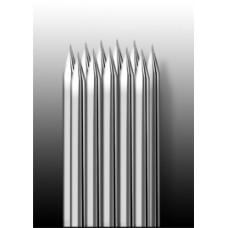 11RM Иглы напаянные на спицу в шахматном порядке (магнум) закруглённая спайка (1 шт.)