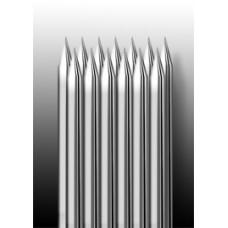 13M1 Иглы напаянные на спицу в шахматном порядке (магнум) широкая спайка (1 шт.)