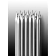 13RM Иглы напаянные на спицу в шахматном порядке (магнум) закруглённая спайка (1 шт.)