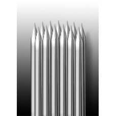 23RM Иглы напаянные на спицу в шахматном порядке (магнум) закруглённая спайка (1 шт.)