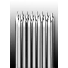 15M1 Иглы напаянные на спицу в шахматном порядке (магнум) широкая спайка (1 шт.)