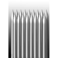 17M1 Иглы напаянные на спицу в шахматном порядке (магнум) широкая спайка (1 шт.)