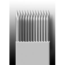 25M1 Иглы напаянные на спицу в шахматном порядке (магнум) широкая спайка (1 шт.)