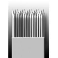 27M1 Иглы напаянные на спицу в шахматном порядке (магнум) широкая спайка (1 шт.)