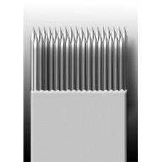 35M1 Иглы напаянные на спицу в шахматном порядке (магнум) широкая спайка (1 шт.)