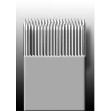 39M1 Иглы напаянные на спицу в шахматном порядке (магнум) широкая спайка (1 шт.)