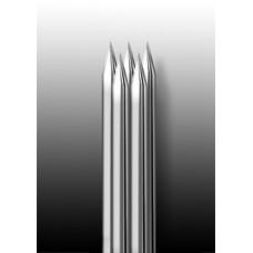 5M1 Иглы напаянные на спицу в шахматном порядке (магнум) широкая спайка (1 шт.)