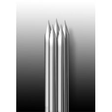 5RM Иглы напаянные на спицу в шахматном порядке (магнум) закруглённая спайка (1 шт.)