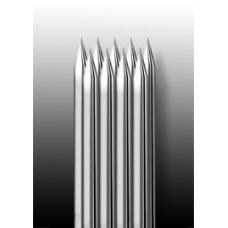 9M1 Иглы напаянные на спицу в шахматном порядке (магнум) широкая спайка (1 шт.)
