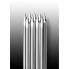9RM Иглы напаянные на спицу в шахматном порядке (магнум) закруглённая спайка (1 шт.)
