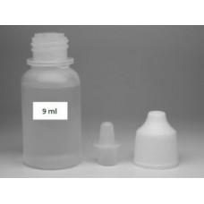 Флакон 9 ml полиэтиленовый с носиком-лейкой