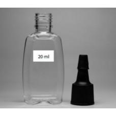 Флакон 20 ml ПЭТ (PET) с крышкой-лейкой