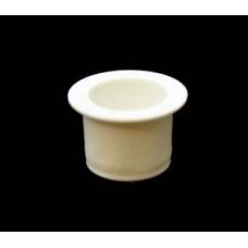 Колпачок белый пластиковый 0,6 мл (осн.11мм, под отв.12мм)