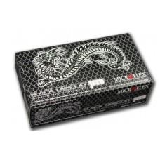 Перчатки чёрные нитриловые без талька Чёрный Дракон Black Dragon Zero (100 шт.)
