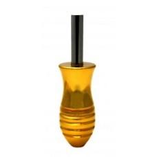Ручка алюминиевая 42.6 гр 58*25 мм. gold
