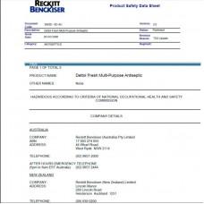 Dettol сертификат (отправляется в электронном виде на имейл)