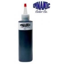 Dynamic Black Tattoo Ink 240 мл и 30 мл произведено и разлито в Dynamic Color Co.